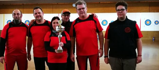 Sieg in der Landesliga (Bogen ohne Visier)