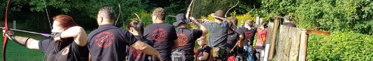 Traditionelles Bogenschießen in der Sächsischen Schweiz